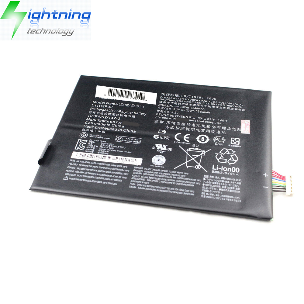 NEW OEM Original L11C2P32 Battery For Lenovo Genuine Battery IdeaTab S6000-F A1000 A3000-H 1ICP3/62/