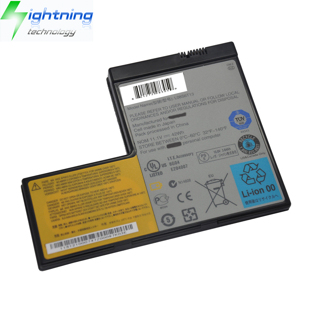 OEM Original Notebook Battery Genuine 42Wh L08S6T13 Battery For Lenovo IdeaPad Y650 4185 Y650A 42T45