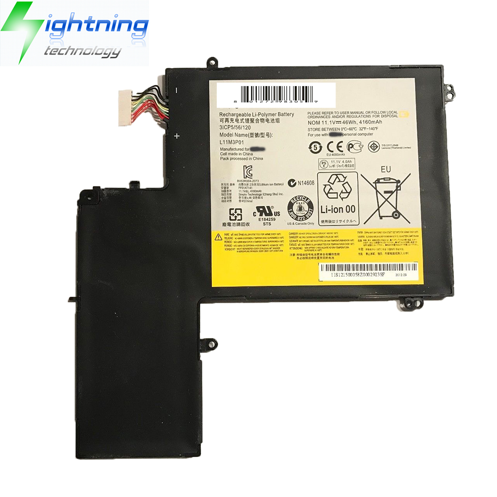 NEW OEM Genuine Original Laptop battery L11M3P01 For Lenovo Notebook Battery Ideapad U310 Ultrabook