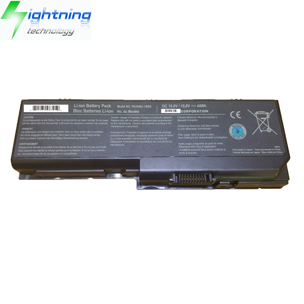 NEW Genuine Original Battery For Toshiba Notebook Battery Satellite P200 Series PA3536U-1BRS PA3537U