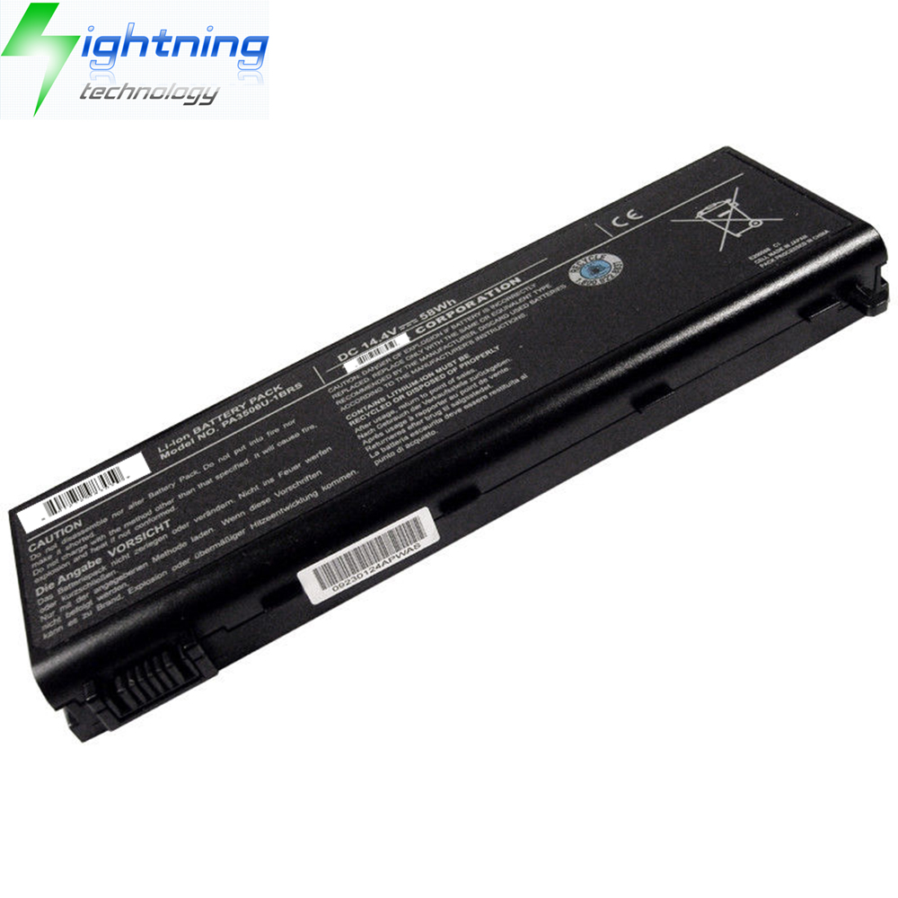 NEW Genuine Original Battery for Toshiba PA3506U-1BRS Battery Laptop 14.4v 58Wh 8-Cell Li-ion Batter