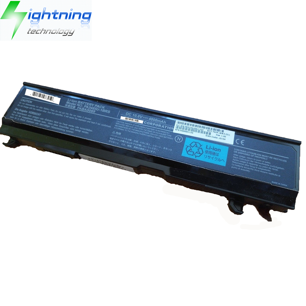 NEW Original Genuine Laptop Battery For Toshiba Satellite PA3465U-1BRS PABAS069 DC 10.8V Notebook Ba