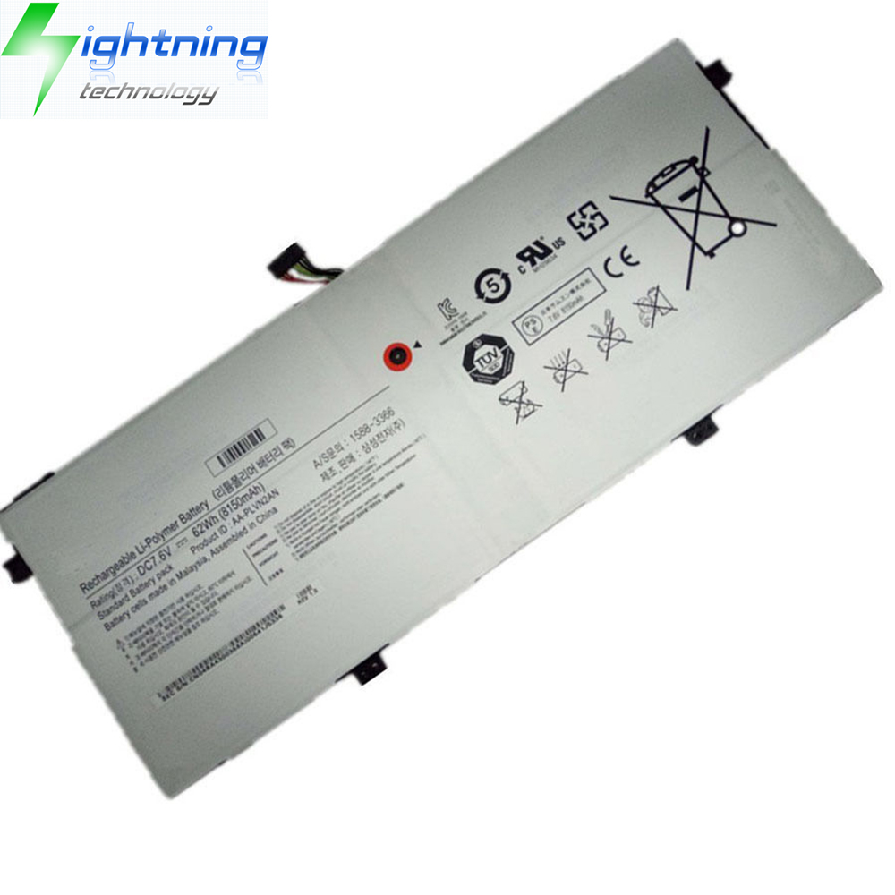 NEW OEM Genuine Original 62Wh AA-PLVN2AN Battery For Samsung Laptop Battery 930X5J-K01 NP930X5J-K02D
