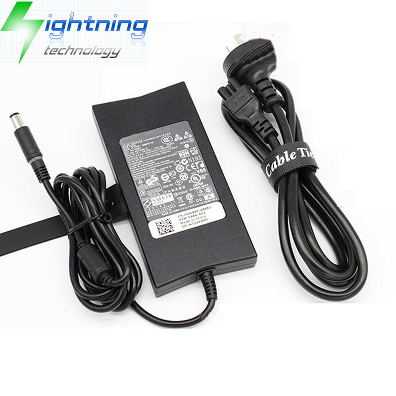 Genu OEM 90W Laptop AC Adapter For DELL Adapter Power Supply PA-3E 19.5V 4.62A DA90PE1-00 Notebook C