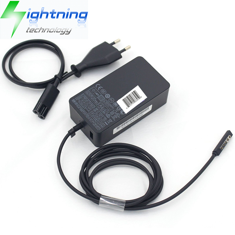 NEW Original Genuine Adapter For Microsoft Charger Surface Pro 4 3 Power Supply 1625 12V 2.58A 36W s
