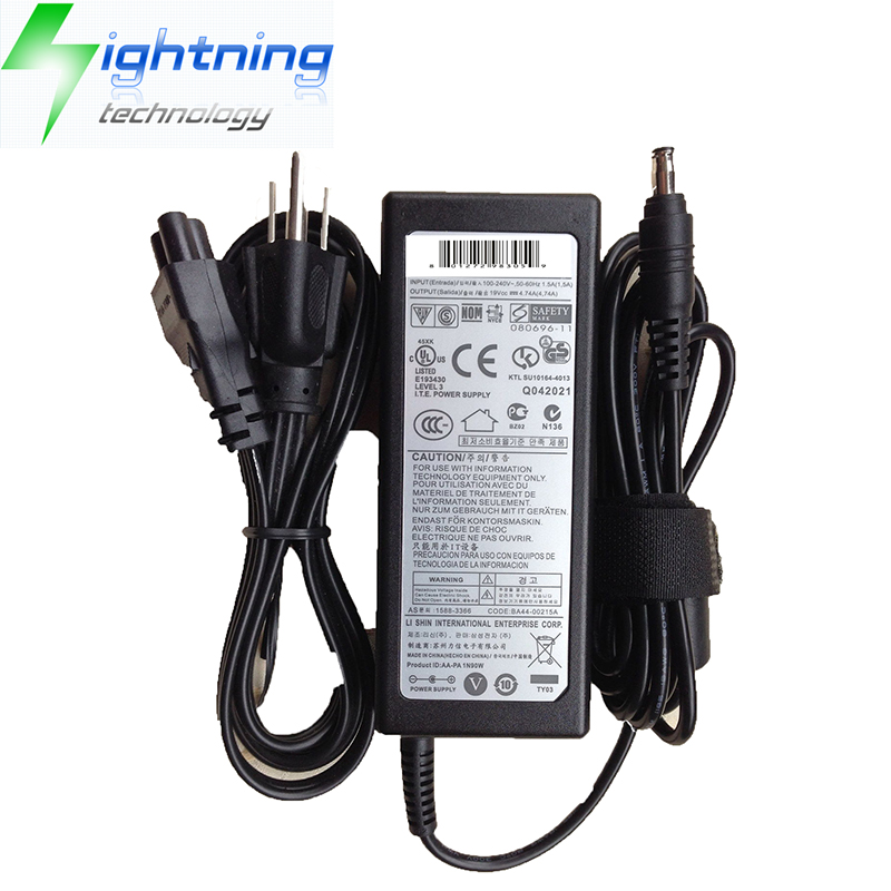 NEW Original Genuine Laptop Charger For Samsung Adapter 90W 19V 4.74A AC Adapter NP700Z5C-S02US,AD-9